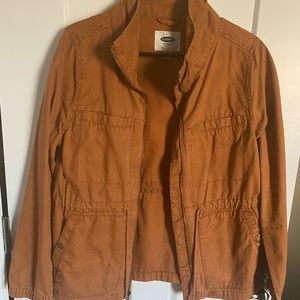 Burnt orange utility jacket